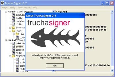Thumbnail 1 for Trucha Signer